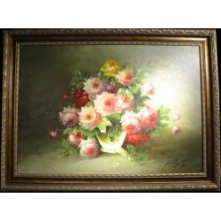 """Цветы """"Пионы и розы"""""""