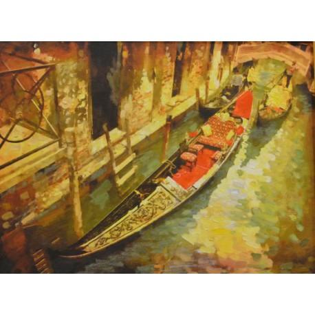 Венеция, лодка